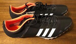adidas Adizero Finesse Track & Field Spikes Core Black/Orange  Size 11.5