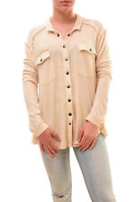 Free People We The Free Women's Button Down Shirt Blush Size XS RRP 62 BCF78