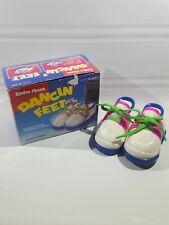 Sound Activated Dancin Feet Retro 1991 Radio Shack Baby Dance Shoes Booties