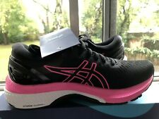 Asics Gel-Kayano 27 Zapatillas para mujer carretera que Negro Rosa Uk Size 4.5 EU 37.5