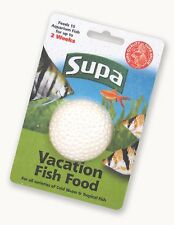 SUPA VACATION 2 WEEK FEEDS 10/15 FISH HOLIDAY FOOD AQUARIUM FEEDING BLOCK 210