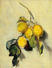 Dream-art hand painted Oil painting Claude Monet - Branch of Lemons on canvas