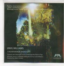 (DQ887) Higher Worlds, Vinyl Williams - 2012 DJ CD