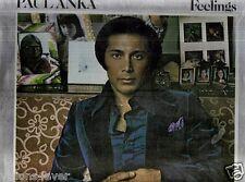 SEALED* 1975* PAUL ANKA LP * FEELINGS  * UNITED ARTISTS LABEL