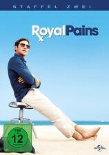 5 DVDs * ROYAL PAINS - STAFFEL 2 # NEU OVP +