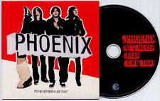 PHOENIX It's Never Been Like That 2006 UK 10-track promo CD
