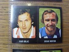 1979/1980 Football Sticker 79/80: 043) Brighton And Hove Albion - Brian Horton &