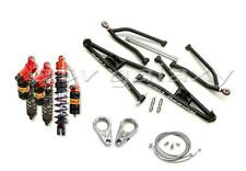 Roll Design Long Travel Arms + Elka Legacy Front Rear Shocks Yamaha YFZ450 450