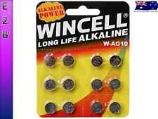12 Pack WINCELL 390 AG10 LR1130 SR1130W SR54 389 ALKALINE BATTERY BATTERIES 1.5V