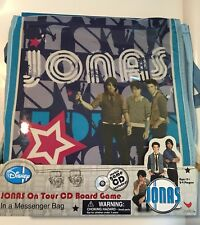 Jonas Brothers On Tour CD Board Game In A Messenger Bag