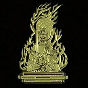 Japanese MAKIE seal Sticker Buddha Buddhism Fudo Myo 40 x 50mm HONZON-07