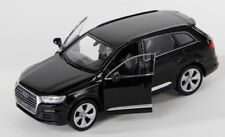 Livraison rapide AUDI q7 Noir/Black welly modèle auto 1:34-39 NOUVEAU & OVP