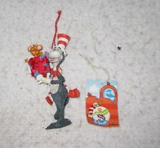 Christmas Ornament Tree Decoration Dr. Suess Cat in the Hat and Whozit Midwest