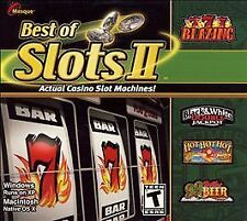 Best of Slots II  (PC, 2004)  Rated T for Teen, Windows/Mac