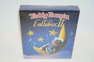 Teddy Ruxpin Lullabies II Book & Cassette Tape Blanket & Pillow Set NIB Shrink