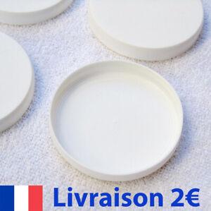8 couvercles pour pots de yaourt en verre type La Laitière  C56