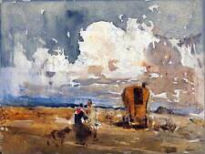PAINTING LANDSCAPE CULTURAL STUDY COX GYPSIES AND WAGON ART PRINT POSTER LAH095