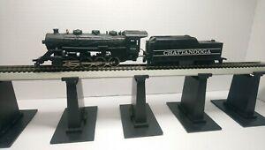 Tyco HO Train Chattanooga 0-8-0 Powered Steam Locomotive & Tender #638 RTR
