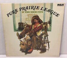"""Pure Prairie League If the Shoe Fits 12"""" LP Vinyl Record Album RCA 1976 VG+"""
