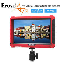 "A7S 7"" 1920x1200 16:10 Native Resolution IPS 4K HDMI DSLR Camera Field Monitor"