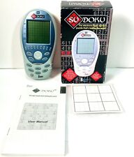 Ryo Electronic SUDOKU Handheld Pocket Travel Logic Number Puzzle Video Game