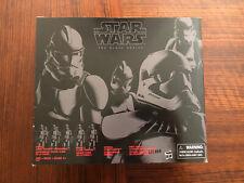 Star Wars Hasbro Black Series Trooper 4 Pack Clone Stormtrooper Action Figures