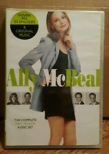 Ally McBeal Complete 1st First Season ALL 23 EPISODES PLUS MUSIC 6 DISC DVD SET