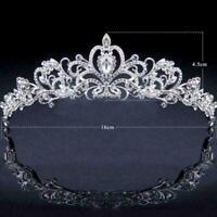 Bridal Bridesmaid Wedding Prom Crystal Rhinestone Diaman Tiara Headbands Cr H5P3