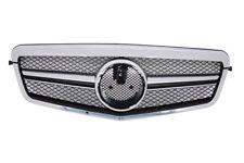 Grille Mercedes E Class W212 S212 09-13 AMG Facelift Design Single Stripe Chrome