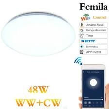 Smart LED Ceiling Light WiFi Remote Control 48W for Amazon Alexa Google Home J