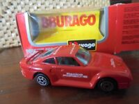 BBURAGO - 4164 PORSCHE 959 - EXCELLENT & BOXED - SCALE 1:43