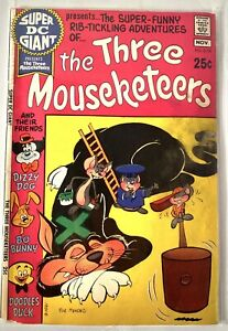 SUPER DC GIANT #18 DC COMICS 1970  FEAT. THREE MOUSEKETEERS S-18