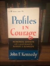 PROFILES IN COURAGE JOHN F. KENNEDY 1964 Memorial Edition DOC