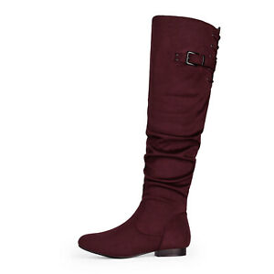 DREAM PAIRS Womens Ladie Over The Knee Thigh High Boots Classic Riding Boots