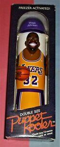 1989 Puppet Kooler EARVIN MAGIC JOHNSON Los Angeles Lakers Freezer cooler NBA 32