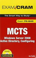 MCTS 70-640 Exam Cram: Windows Server 200... by Poulton, Don Mixed media product