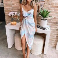 Loose summer Floral Women Cocktail Party Maxi Long Sleeve Dresses Long Dress