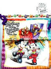 "Tokyo Disney Resort 2006 ""Rhythm's of The World"" Pin Trading Draw String Bag"