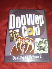 DOO WOP GOLD 51 VOL 2 OOP DVD TIME LIFE BETTY EVERETT MAURICE WILLIAMS COASTERS