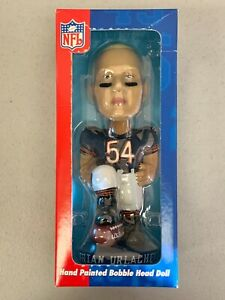 Brian Urlacher Chicago Bears Limited Ed. Collectible NFL Football Bobblehead NEW