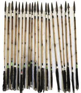 Custom Handmade Lot of 20 Indian Tribal Arrows Replica