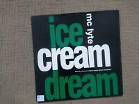 """MC LYTE ICE CREAM DREAM 1992 12"""" FULL LENGTH ORIGINAL VINYL UK RELEASE"""