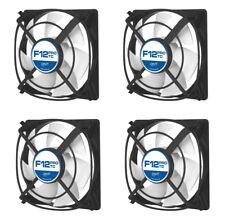 4 x confezione di Arctic Cooling F12 TC 120 mm Custodia Pro Fan, 1300 RPM