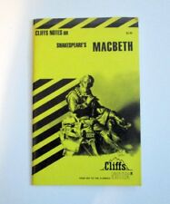 Macbeth - Shakespeare - Cliff's Notes (1979)