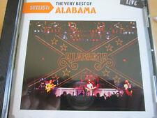 Alabama - Setlist: The Very Best of Alabama Live (2010)  CD  NEW  SPEEDYPOST