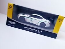 Braha Bentley Continental GT3 1:24 Scale Friction Car White - *New*