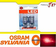 OB Sylvania Premium LED light Bulb 7443 Red Turn Signal Side Marker Tail Upgrade