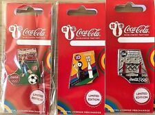 LONDON 2012 OLYMPICS COCA COLA DAY OF THE GAMES DAY 13 MASCOT WENLOCK PIN BADGE