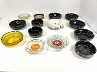 Lot Of 14 Vintage Ashtrays Las Vegas & Others Collection