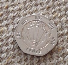 1998 50th Anniversary Of NHS 50 Pence Coin